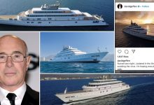 American US billionaire quarantined on ultra luxury yacht