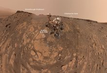 Curiosity rover took a picture