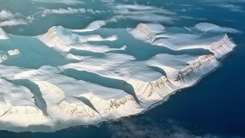 Denmen Glacier is melting incredibly quickly in Antarctica