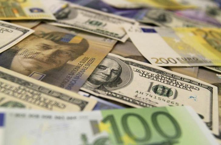 Dollar fell amid a slowdown in panic sales