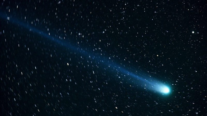 Earth will be able to see the comet ATLAS with their naked eyes