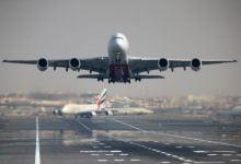 Emirates suspends flights Plane