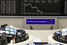 Europe stocks lower