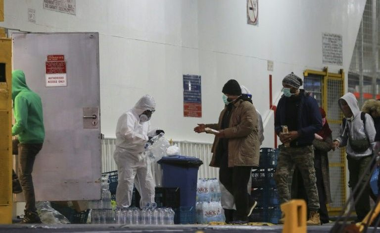 From Germany to Greece migrants vulnerable to the coronavirus