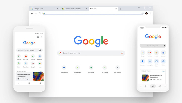 Google showed how Chrome will change
