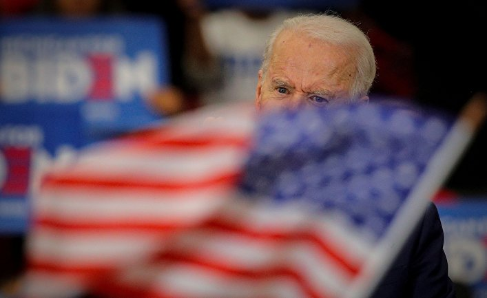 How did Biden become a Democratic candidate