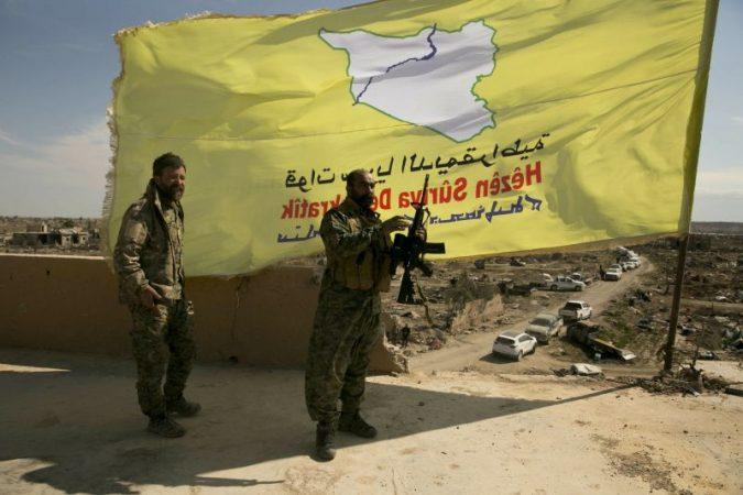 Kurdish fighters sdf