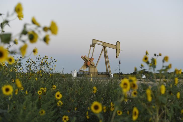 Oil has fallen in price