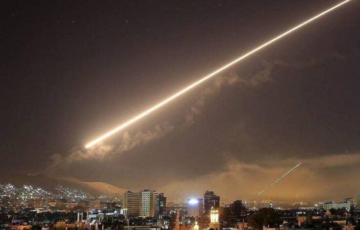 Saudi led coalition confirmed interception of two rockets