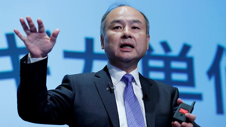 Softbank is gearing up for a corona crash