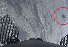 SpaceX rocket nearly collides with UFO