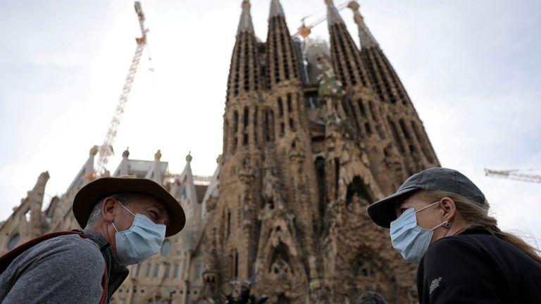 Spain coronavirus