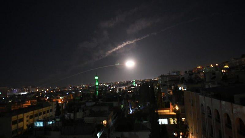 Syria repulsed Israeli rocket strike