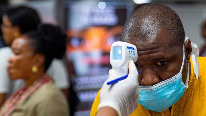 coronavirus infection in South Africa