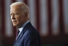 Biden accused of sexual harassment