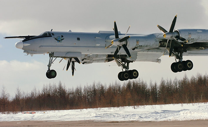British Air Force chief condemns Russia after intercepting two Cold War bombers near Scotland