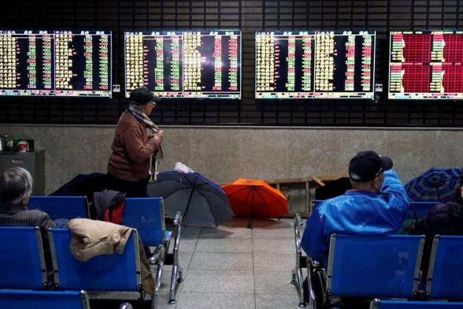 Chinese stocks closed with growth amid improved global sentiment watching GDP