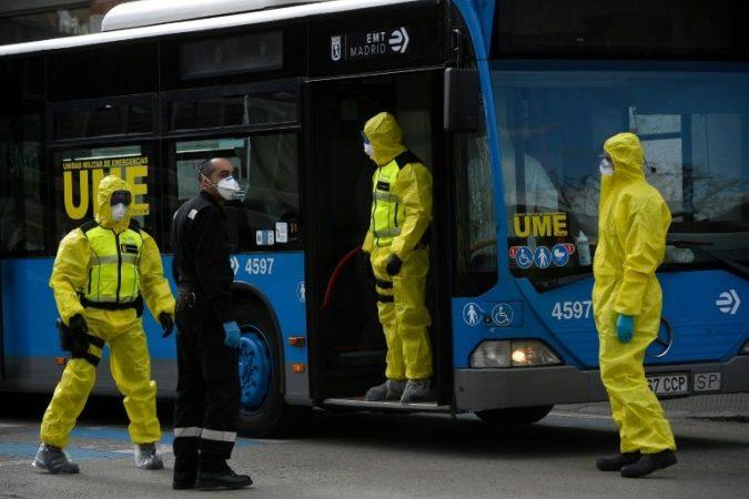Coronavirus Spain exceeds dead