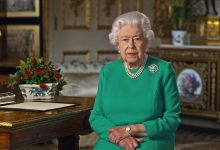 Elizabeth II thanked quarantine British