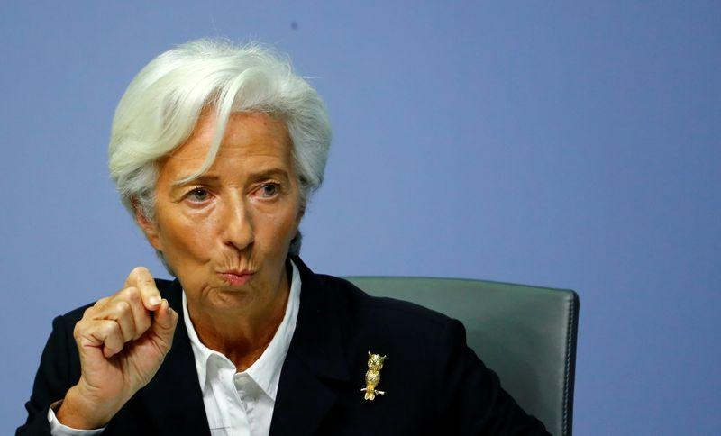 Lagarde warned that Eurozone GDP could fall by due to coronavirus