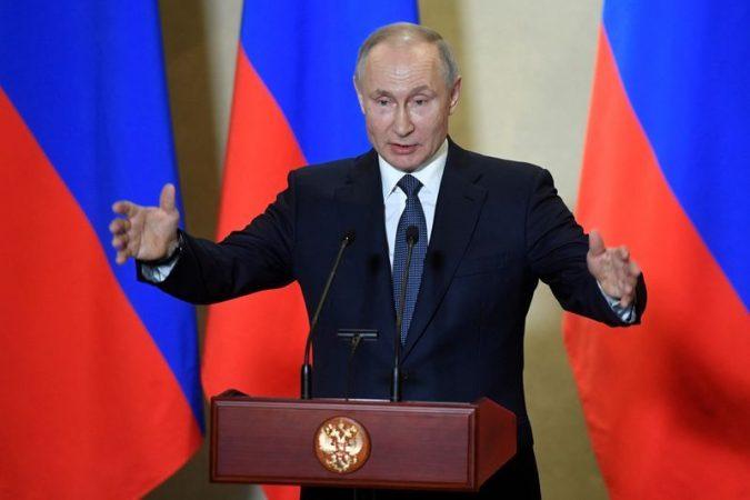 Putins speech scheduled for the day