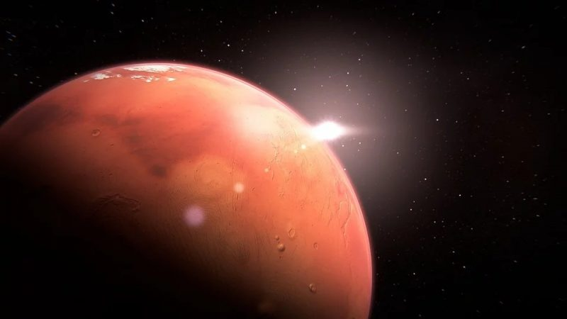 Scientists have almost proved that there is life on Mars