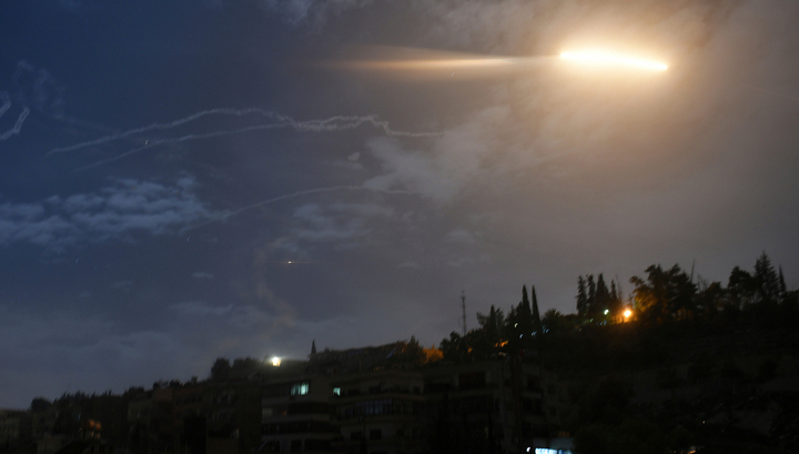 Syrian air defense reflects missile attack
