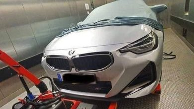 This is what the new BMW Series coupe looks like weird