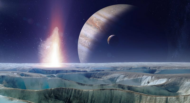 Under the ice of Jupiter's satellite there may be a higher life form