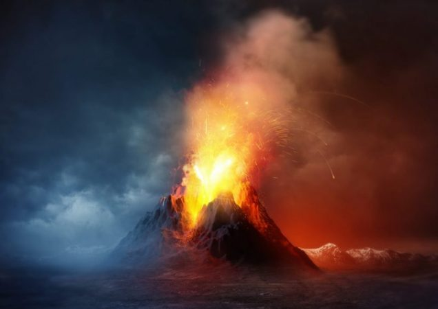 A surge in volcanic activity threatens the Earth with a new Ice Age