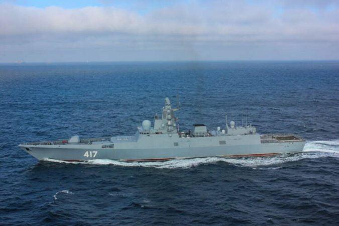 Admiral Gorshkov frigate x