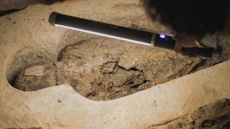 """Afterlife business Ancient Egyptian """"funeral home"""" found"""