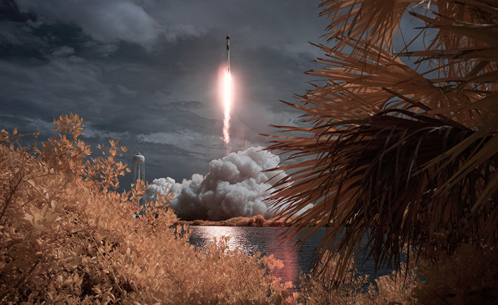 America has again become a country operating in space