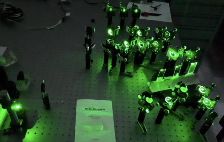 An optical sensor based on a quantum algorithm is created