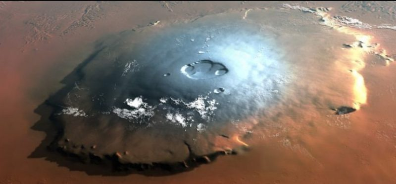 Ancient meteorite the first chemical evidence of volcanic convection on Mars