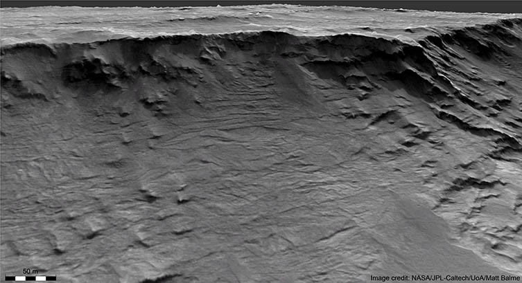 Ancient river systems on Mars visible in peerless details