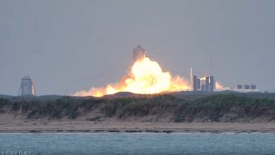 Photo of Another Elon Musk spaceship exploded
