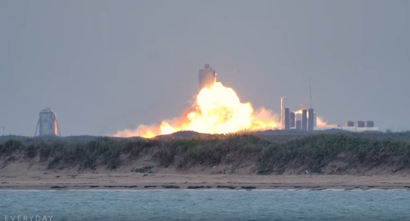 Another Elon Musk spaceship exploded