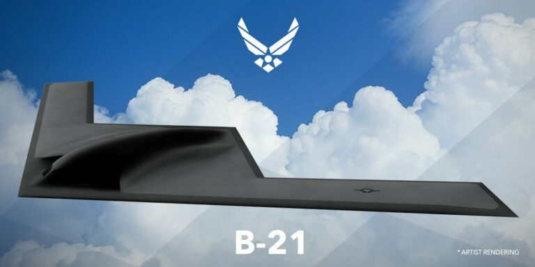 Artist Rendering B Bomber Air Force Official x