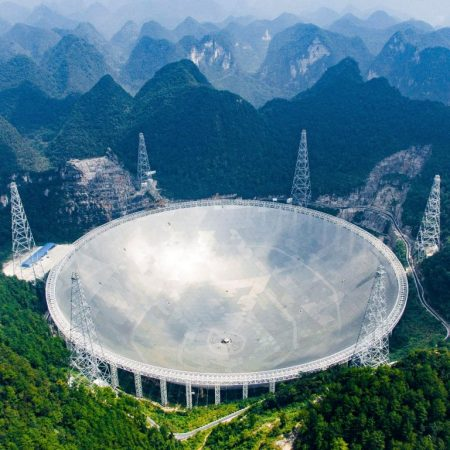 Astronomers China is a world leader in the search for extraterrestrial intelligent life