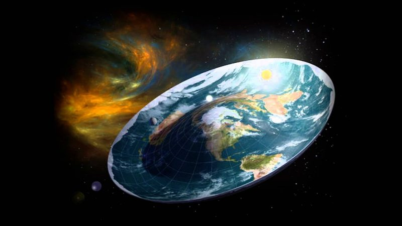Astronomers early Earth could be flat