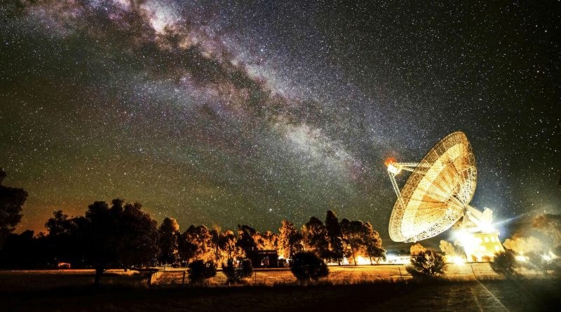Astronomers recorded a strong radio signal from space and determined its source
