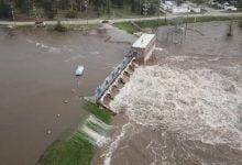 Catastrophic Dam Dam in Michigan threaten Dow chemicals