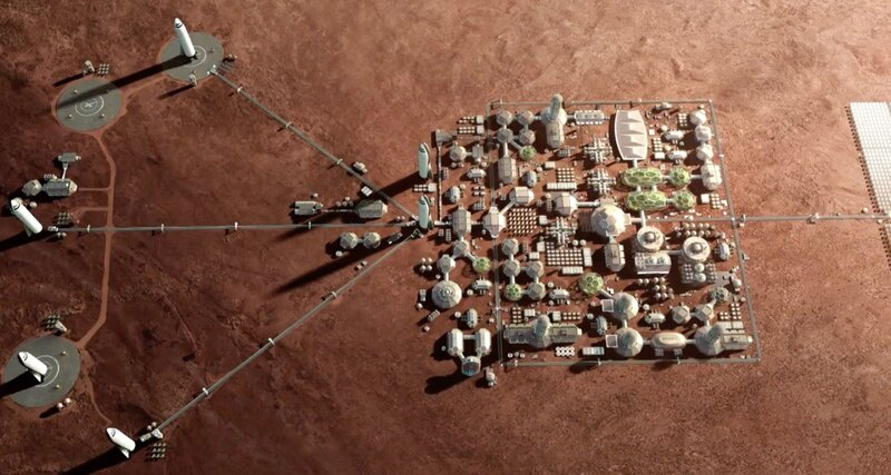 Colonization of Mars will force a person to change DNA