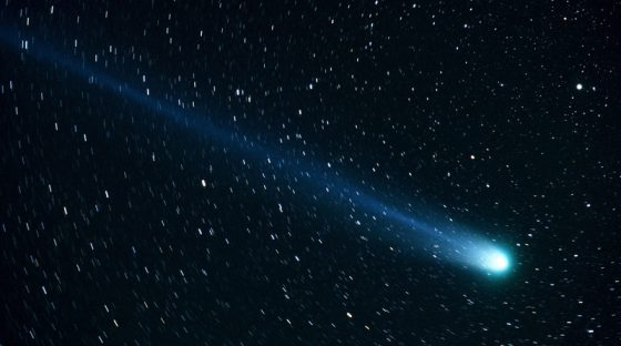 Comet Swan which flies to the Sun can now be seen with the naked eye
