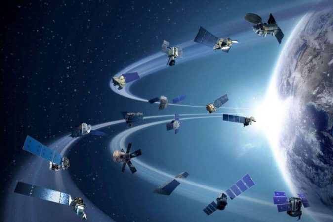 Crowd in space tens of thousands of satellites scheduled to launch into orbit