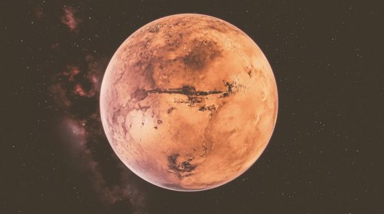 Do alien viruses threaten Earth after the first landing of people on Mars