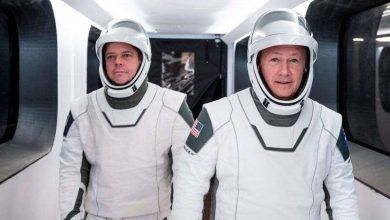 Photo of Elon Musk said worked on SpaceX new space suit for 4 years