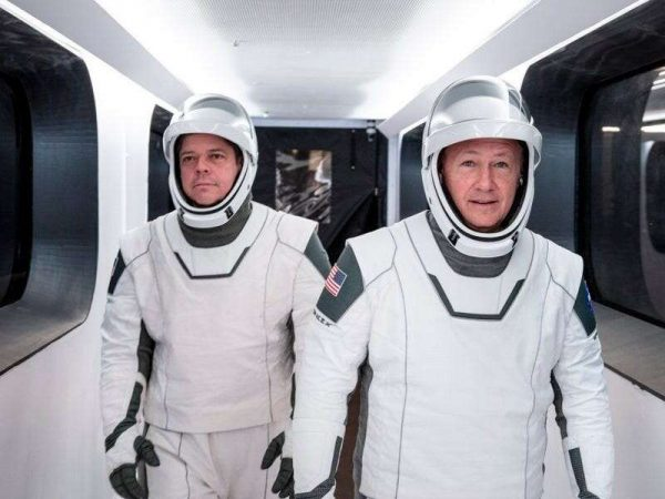 Elon Musk said he worked on SpaceXs new space suit for years