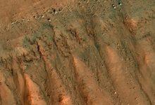 Flying over Mars